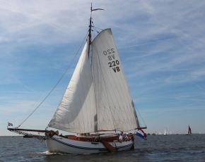 Windstreek Lemsteraak Roefuitvoering, Plat- en rondbodem, ex-beroeps zeilend  for sale by Chris Beuker Maritiem