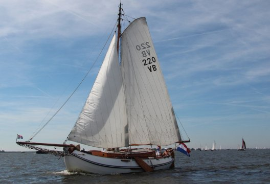Lemsteraak Windstreek Roefuitvoering, Plat- en rondbodem, ex-beroeps zeilend  for sale by Chris Beuker Maritiem