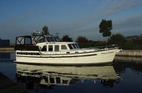 Super Lauwersmeer Kruiser 450, Motorjacht Super Lauwersmeer Kruiser 450 te koop bij Smelne Yachtcenter BV