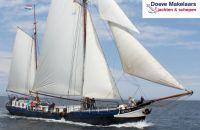 Tweemast Charter Zeeklipper 22 pass, Plat- en rondbodem, ex-beroeps zeilend