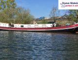 Motortjalk 24.38 , Före detta kommersiell motorbåt Motortjalk 24.38 säljs av Doeve Makelaars en Taxateurs Jachten en Schepen