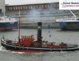 Stoomsleepboot 18.00 met CBB , Ex-Fracht/Fischerschiff Stoomsleepboot 18.00 met CBB Zu verkaufen durch Doeve Makelaars en Taxateurs Jachten en Schepen