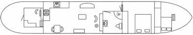 Katwijker / Varend Woonschip 24.15 met CBB