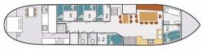 Zeilklipper 24.35 met CBB 12 pass