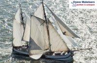 Zeegaand KOFTJALK Charterschip, Plat- en rondbodem, ex-beroeps zeilend