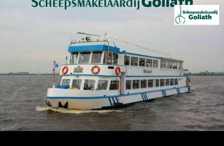 RONDVAARTBOOT 35.00, Ex-professionele motorboot RONDVAARTBOOT 35.00 te koop bij Scheepsmakelaardij Goliath
