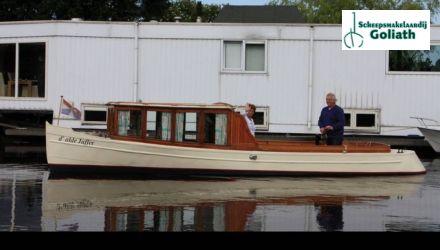 Notarisboot 9.00, Klassiek/traditioneel motorjacht  for sale by Scheepsmakelaardij Goliath Muiderberg