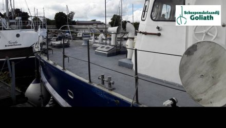 Patrouille Ex-patrouille schip Duitse Marine, Ex-professionele motorboot  for sale by Scheepsmakelaardij Goliath Leer