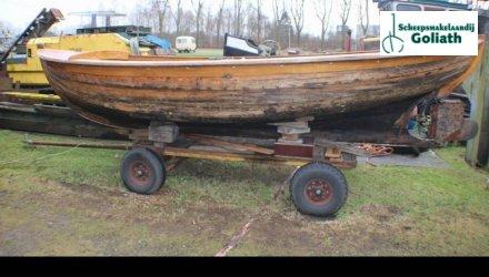 , Open motorboot en roeiboot  for sale by Scheepsmakelaardij Goliath Bergum