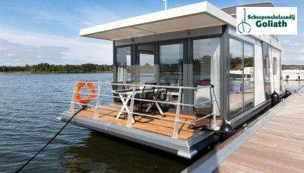 MarinHome 54 Comfort Houseboat, Woonboot  for sale by Scheepsmakelaardij Goliath Heerenveen