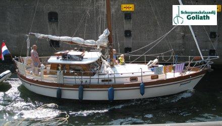 Northsea motorsailor, Zeiljacht  for sale by Scheepsmakelaardij Goliath Gorinchem