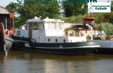 Sleepboot waterstaat schip, Ex-professionele motorboot Sleepboot waterstaat schip te koop bij Scheepsmakelaardij Goliath