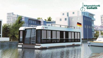 Houseboat Malediven, Woonboot  for sale by Scheepsmakelaardij Goliath Heerenveen