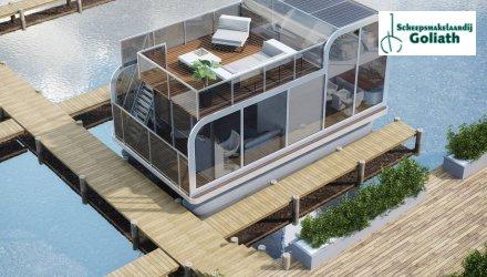 Houseboat Capri (HB 26), Woonboot  for sale by Scheepsmakelaardij Goliath Heerenveen