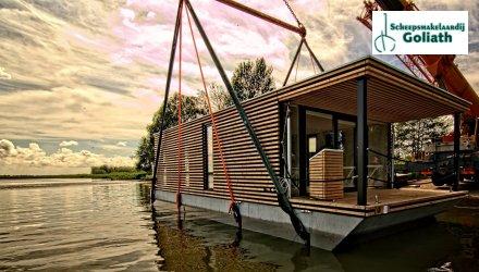 Houseboat HT4, Woonboot  for sale by Scheepsmakelaardij Goliath Heerenveen