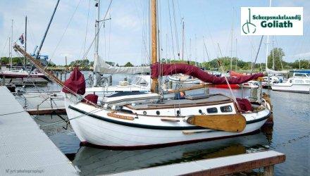 Lemsteraak 10.50, Klassiek scherp jacht  for sale by Scheepsmakelaardij Goliath - Hoofdkantoor