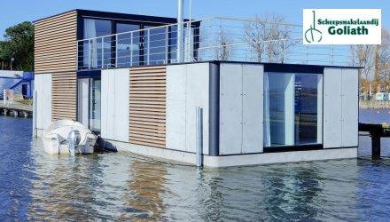 Houseboat HT7 XXL Home, Woonboot  for sale by Scheepsmakelaardij Goliath Heerenveen