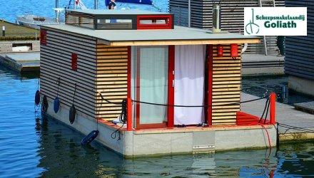Houseboat HT9, Woonboot  for sale by Scheepsmakelaardij Goliath Heerenveen