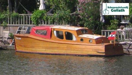Salonboot 7,5 m, Klassiek/traditioneel motorjacht  for sale by Scheepsmakelaardij Goliath Muiderberg