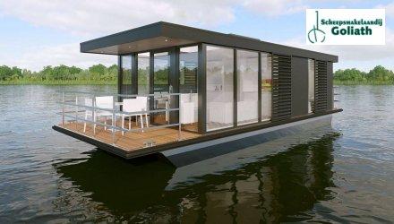 MarinHome 54 Prestige Houseboat, Woonboot  for sale by Scheepsmakelaardij Goliath Heerenveen
