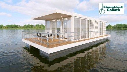 MarinHome 84 Prestige Houseboat, Woonboot  for sale by Scheepsmakelaardij Goliath Heerenveen