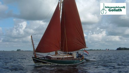 Scheldeschouw 950 type, Zeiljacht  for sale by Scheepsmakelaardij Goliath It Heidenskip