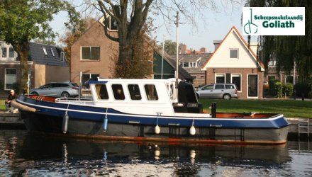 Stevenvlet 12.20, Motorjacht  for sale by Scheepsmakelaardij Goliath Lemmer
