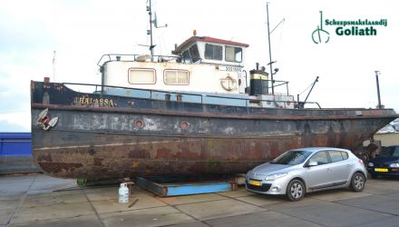 Sleepboot 17.62, Ex-professionele motorboot  for sale by Scheepsmakelaardij Goliath - Hoofdkantoor