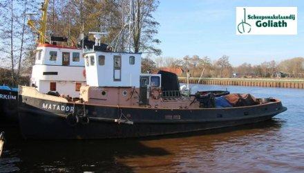Sleepboot zeegaand, Ex-professionele motorboot  for sale by Scheepsmakelaardij Goliath Bergum