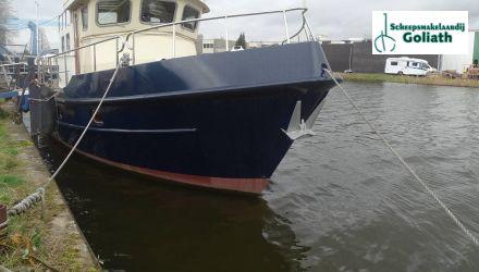 Zeewaardige Kotter 13.30, Ex-professionele motorboot  for sale by Scheepsmakelaardij Goliath Hellevoetsluis