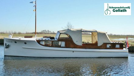 Bakdekkruiser 11.00, Klassiek/traditioneel motorjacht  for sale by Scheepsmakelaardij Goliath Lemmer