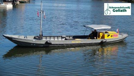 Rietaak 12.50 Rondvaartboot, Sloep  for sale by Scheepsmakelaardij Goliath Muiderberg