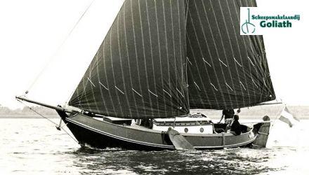 Schokker Paans 10 Meter, Plat- en rondbodem, ex-beroeps zeilend  for sale by Scheepsmakelaardij Goliath Koudum