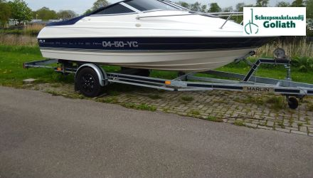 Bayliner 1702 Capri LS, Speed- en sportboten  for sale by Scheepsmakelaardij Goliath - Hoofdkantoor