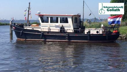 Sleepboot 13.43, Motorjacht  for sale by Scheepsmakelaardij Goliath - Hoofdkantoor