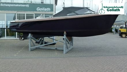 Stalen Sloep. Open, Sloep  for sale by Scheepsmakelaardij Goliath Makkum