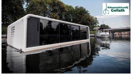 Floodule FLOO3 Basic Version Houseboat, Woonboot  for sale by Scheepsmakelaardij Goliath Heerenveen