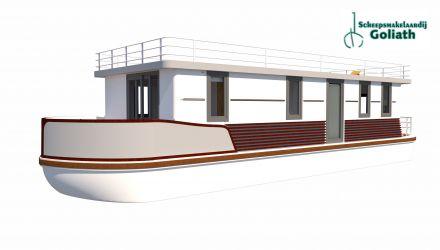 Villaboat 17 Classic De Luxe, Varend woonschip  for sale by Scheepsmakelaardij Goliath Lemmer 3