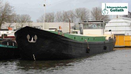 Klipper, Varend Woonschip Met CVO 30.00, Ex-professionele motorboot  for sale by Scheepsmakelaardij Goliath Harlingen