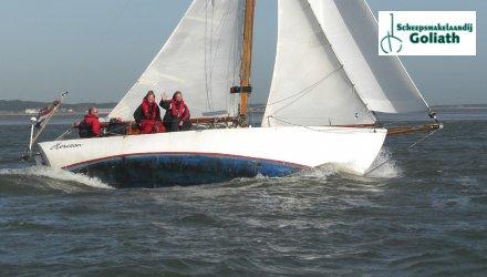 Klassieke S-spant Lumey 785, Klassiek scherp jacht  for sale by Scheepsmakelaardij Goliath It Heidenskip