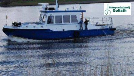 Ex-peilvaartuig 1500, Ex-professionele motorboot  for sale by Scheepsmakelaardij Goliath Bergum