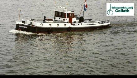 Sleepboot 16.80-1922, Ex-professionele motorboot  for sale by Scheepszaken Warten