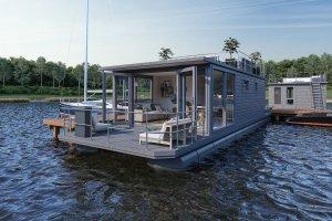 Havenlodge Castalia Houseboat, Woonboot  - Scheepsmakelaardij Goliath Sneek 4