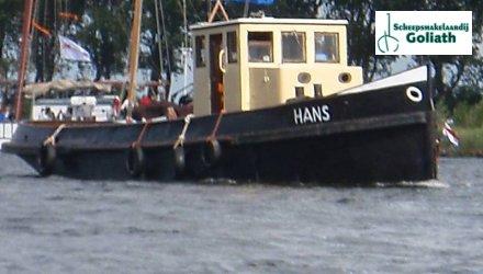 Sleepboot 16.50, Ex-professionele motorboot  for sale by Scheepsmakelaardij Goliath Muiderberg