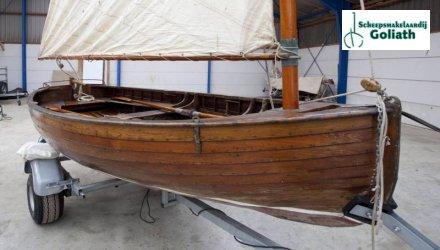 , Klassiek scherp jacht  for sale by Scheepsmakelaardij Goliath Lemmer 2
