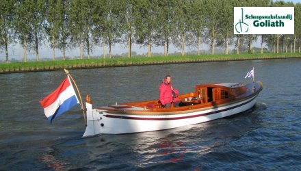 CABIN SLOEP 8.20 m. Verhoef, Sloep  for sale by Scheepszaken Warten