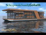 Varende Villa Varende woonboot, Péniche Varende Villa Varende woonboot à vendre par Scheepsmakelaardij Goliath