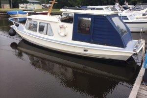 Semi Knikspant Platbodem, Motorjacht  - Allround Watersport Meerwijck