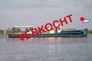 BAKDEK SALONKRUISER, Ex-commercial motor boat  - De Jachtmakelaars.nl