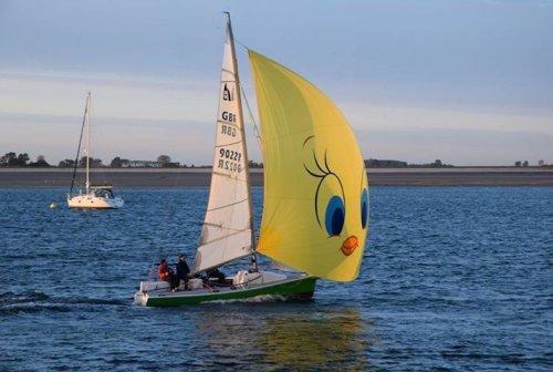 Humphreys 22, Zeer Snelle Daycruiser Met Recente Zeilen, Open zeilboot  for sale by Saleboot BV